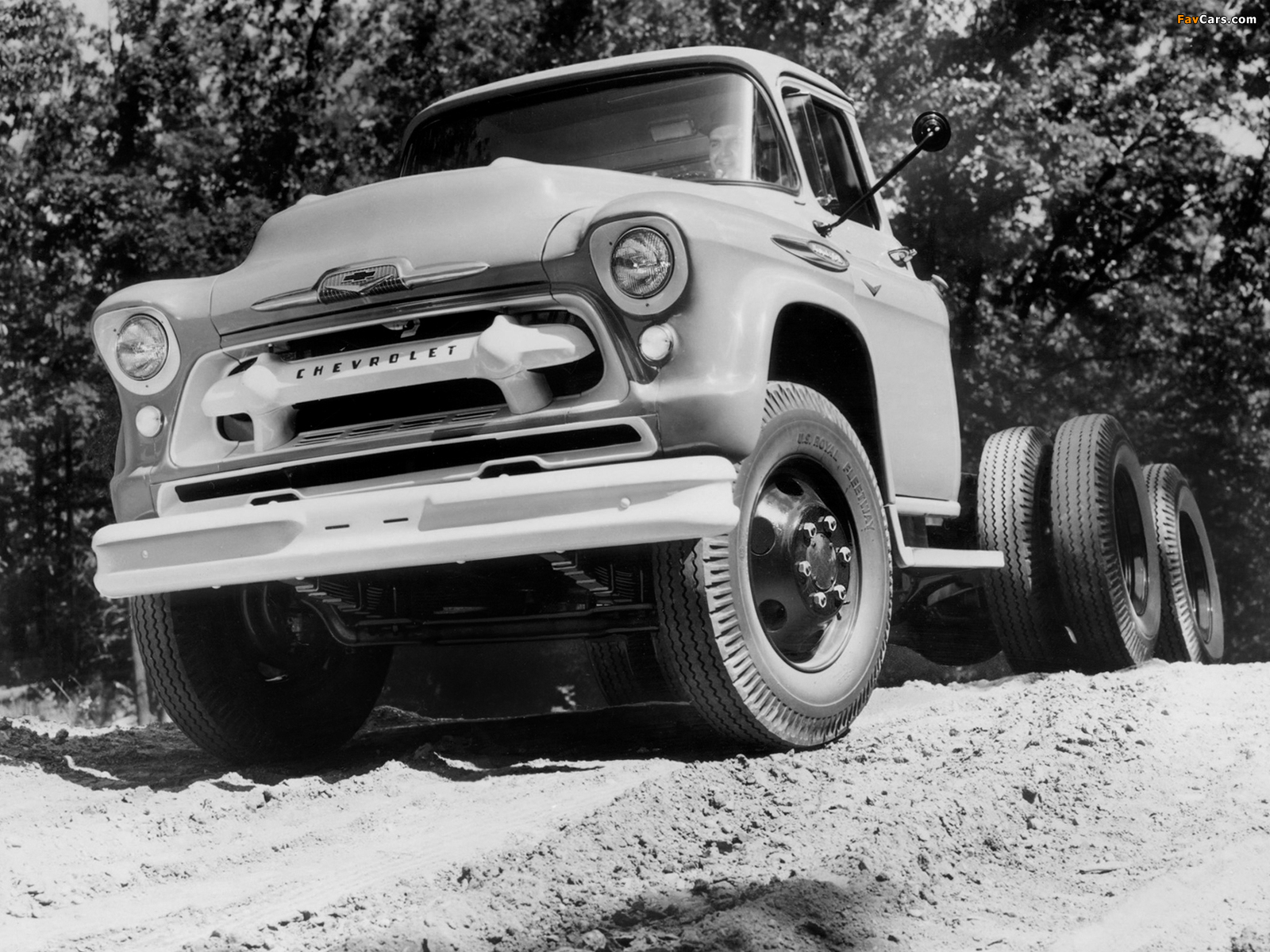 Chevrolet 10400 Chassis Cab (10403) 1957 pictures (1600 x 1200)