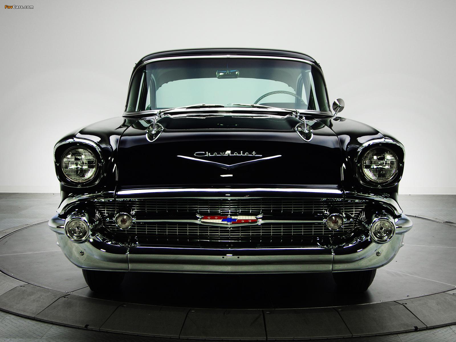 Chevrolet 150 2-door Sedan (1502-1211) 1957 images (1600 x 1200)