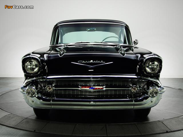 Chevrolet 150 2-door Sedan (1502-1211) 1957 images (640 x 480)