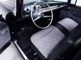 Chevrolet 150 2-door Sedan (1502-1211) 1957 photos