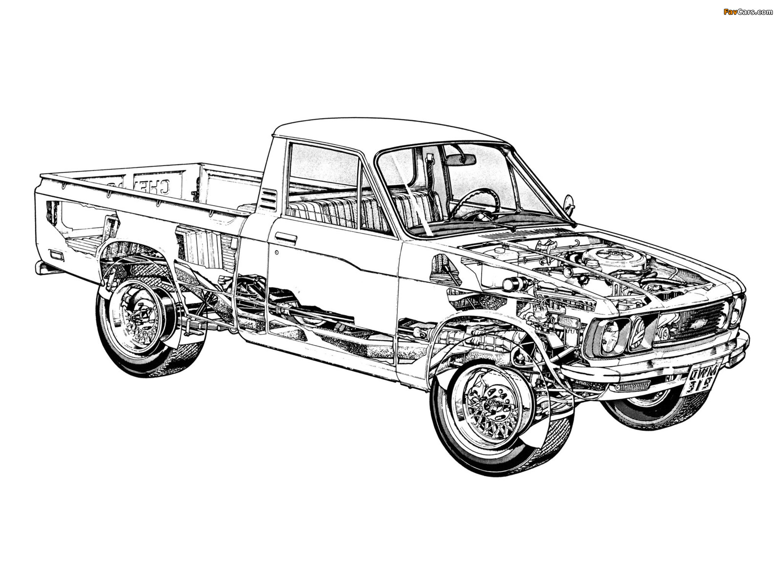 Images of Chevrolet 150 (1600 x 1200)