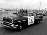 Chevrolet 210 4-door Sedan Police (2103-1019) 1957 photos