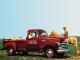Chevrolet 3600 DeLuxe Pickup Truck (FR-3604) 1948 pictures