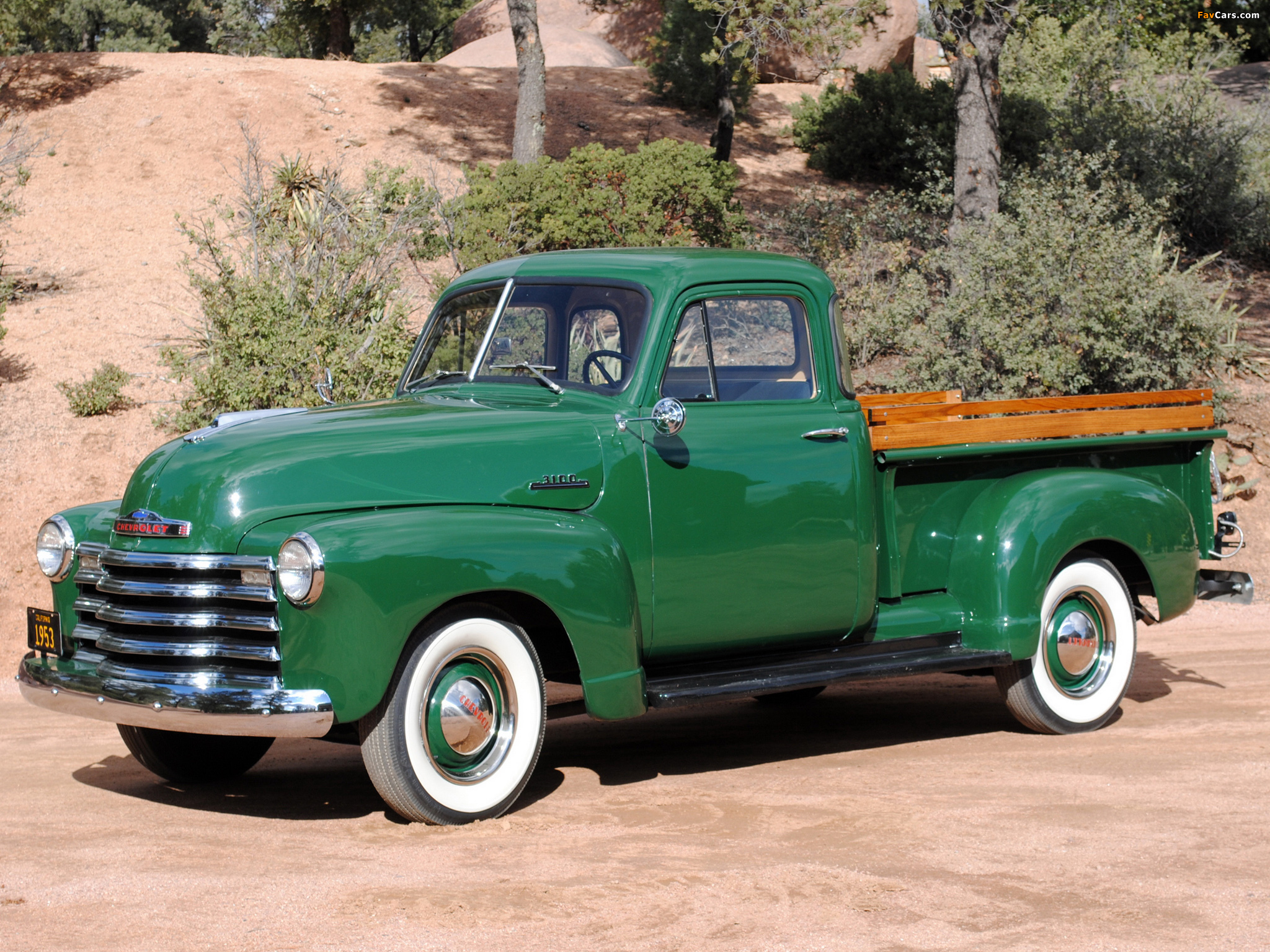 Chevrolet Chevy Pickup >> Chevrolet 3100 Pickup (H-3104) 1953 pictures (2048x1536)