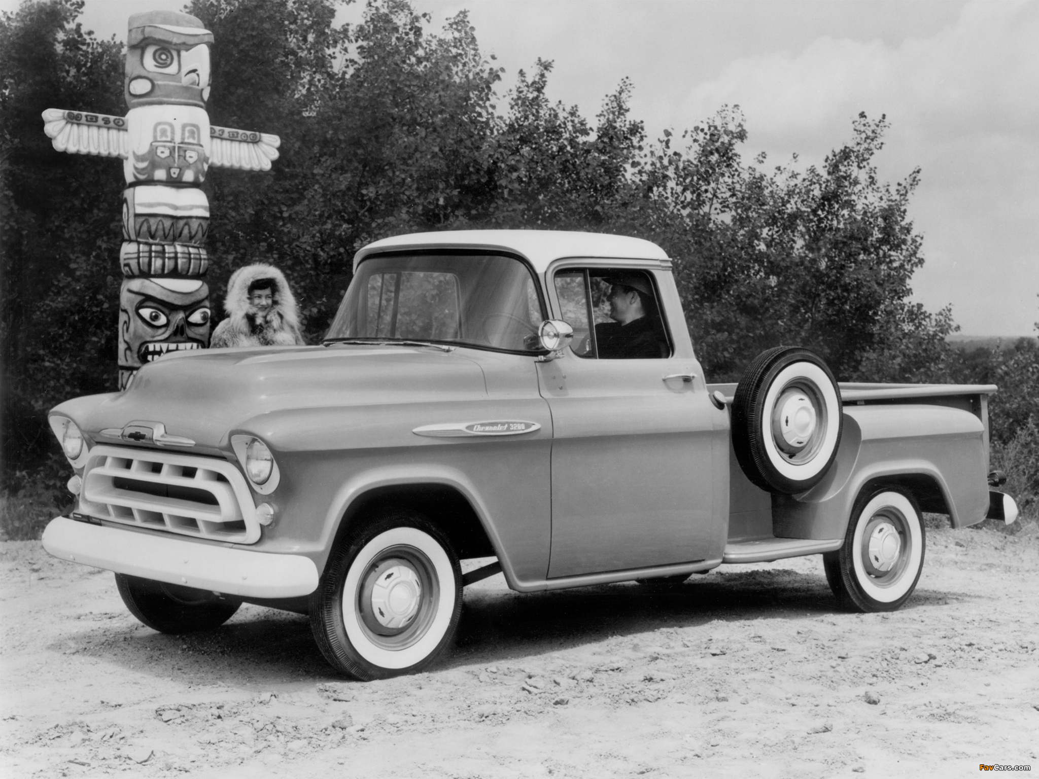 Chevrolet 3200 Stepside Pickup 3b 3204 1957 Images 2048x1536 Chevy C10 2048 X 1536