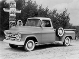 Chevrolet 3200 Stepside Pickup (3B-3204) 1957 images