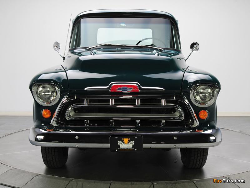 Chevrolet 3100 Stepside Pickup (3A-3104) 1957 images (800 x 600)