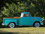 Chevrolet 3100 Stepside Pickup (3A-3104) 1957 photos