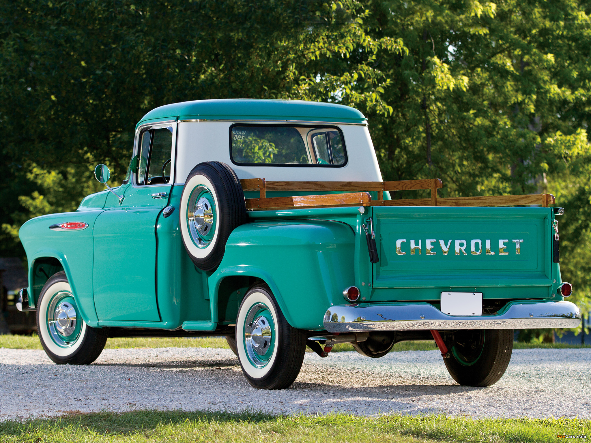 Chevrolet 3100 Stepside Pickup (3A-3104) 1957 pictures (2048 x 1536)