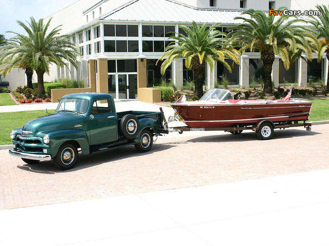 Chevrolet 3100 Pickup 1954 pictures (640 x 480)