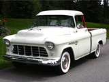 Chevrolet 3100 Cameo Fleetside 1955 photos