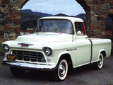 Chevrolet 3100 Cameo Fleetside 1955 pictures
