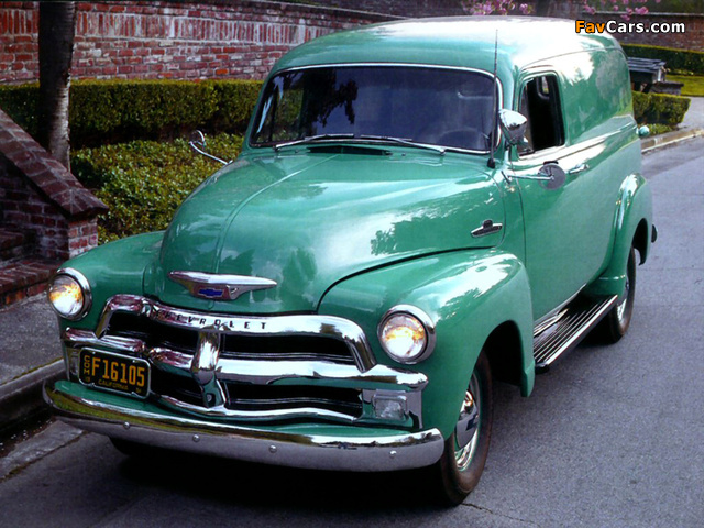 Images of Chevrolet 3100 Panel (H-3105) 1954 (640 x 480)