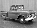 Images of Chevrolet 3100 Standard Pickup (H-3104) 1955