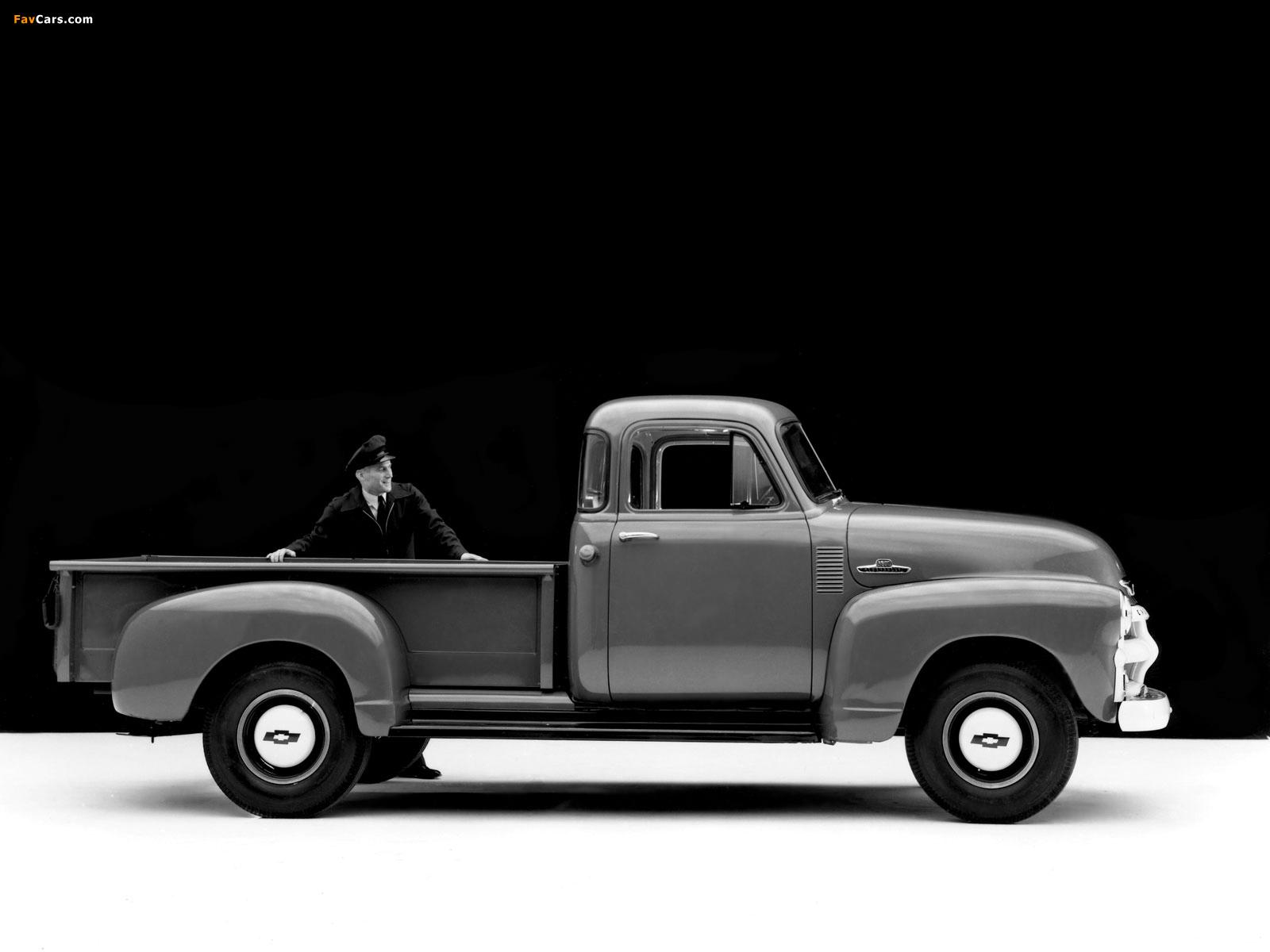 Images of Chevrolet 3600 Pickup Truck (J-3604) 1955 (1600 x 1200)