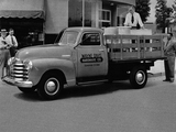 Photos of Chevrolet 3600 DeLuxe Stake Truck (FR-3609) 1948