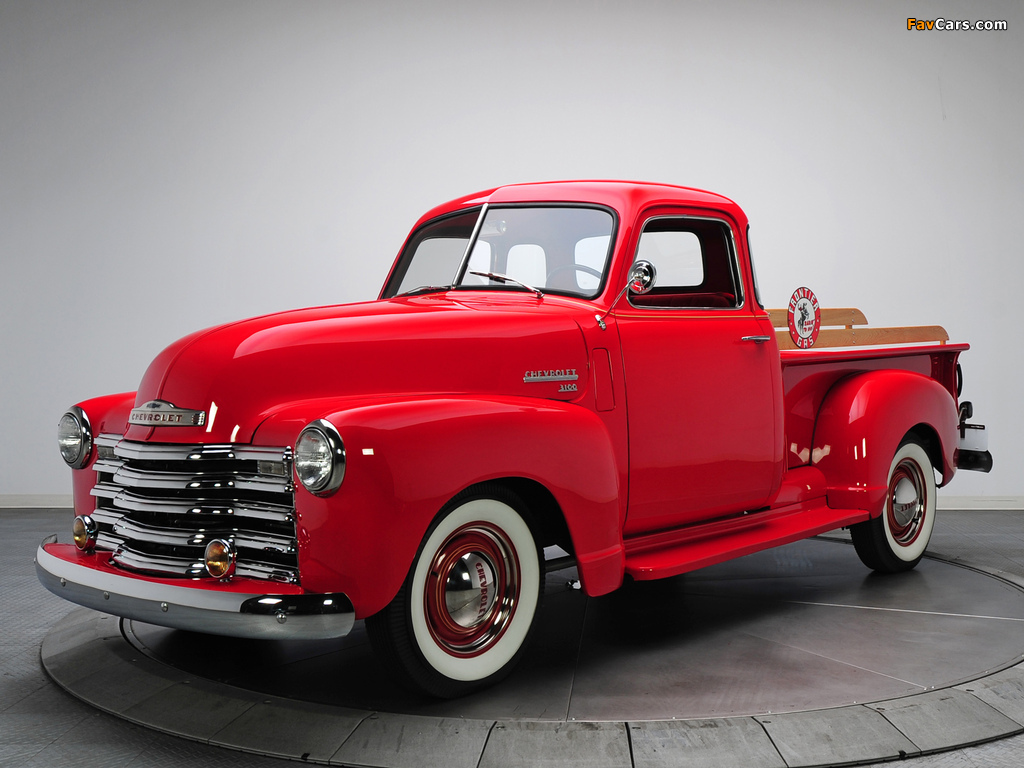 Photos of Chevrolet 3100 Pickup (GP/HP-3104) 1949–50 (1024 x 768)