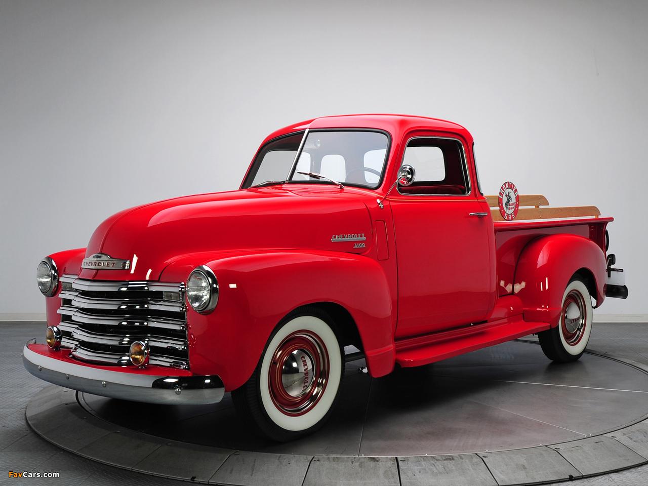 Photos of Chevrolet 3100 Pickup (GP/HP-3104) 1949–50 (1280 x 960)