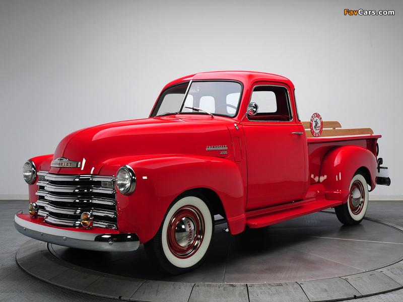 Photos of Chevrolet 3100 Pickup (GP/HP-3104) 1949–50 (800 x 600)