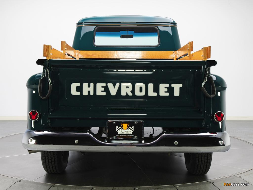 Photos of Chevrolet 3100 Stepside Pickup (3A-3104) 1957 (1024 x 768)