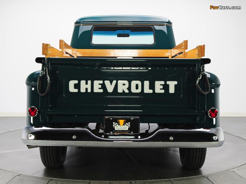 Photos of Chevrolet 3100 Stepside Pickup (3A-3104) 1957 (800 x 600)