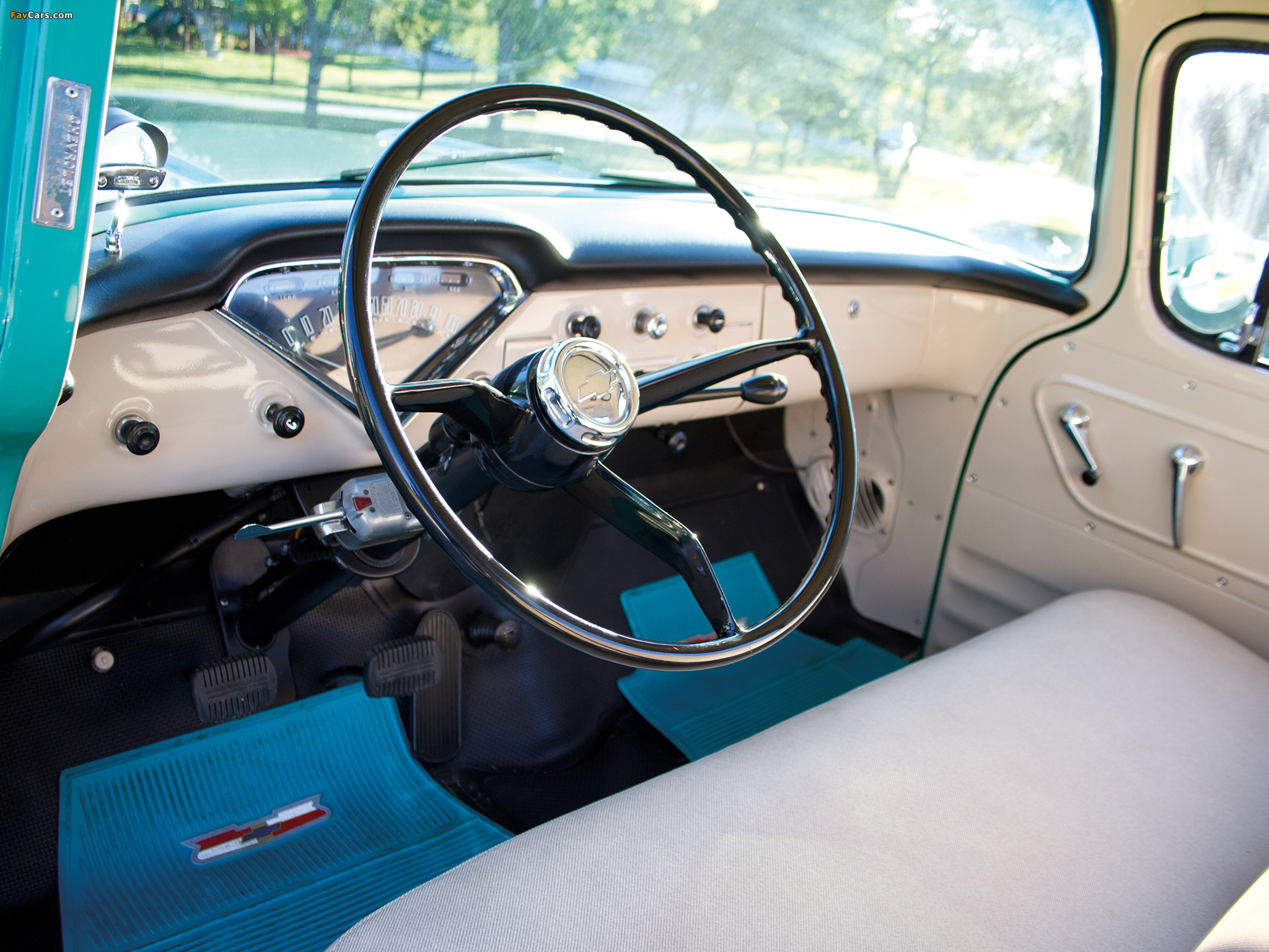 Photos of Chevrolet 3100 Stepside Pickup (3A-3104) 1957 (2048 x 1536)