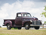 Pictures of Chevrolet 3100 Pickup Truck (EP/FP-3104) 1947–48