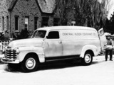 Pictures of Chevrolet 3800 DeLuxe Panel Truck (FS-3805) 1948