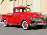 Pictures of Chevrolet 3100 Pickup 1951–52