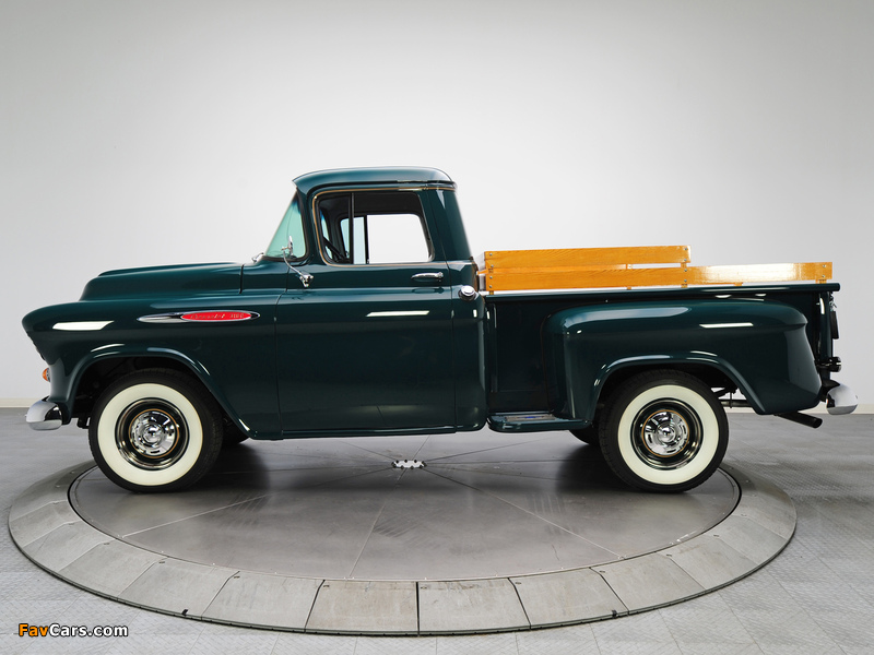 Pictures of Chevrolet 3100 Stepside Pickup (3A-3104) 1957 (800 x 600)
