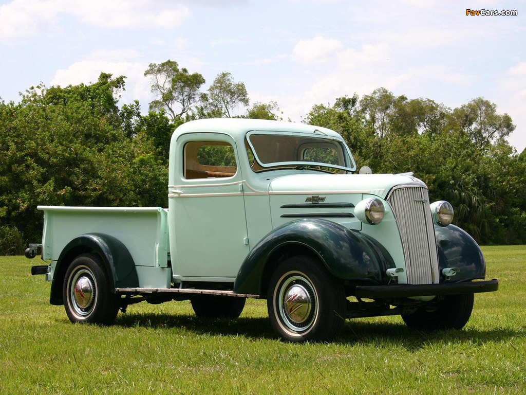 Pictures of Chevrolet Pickup 1937 (1024 x 768)