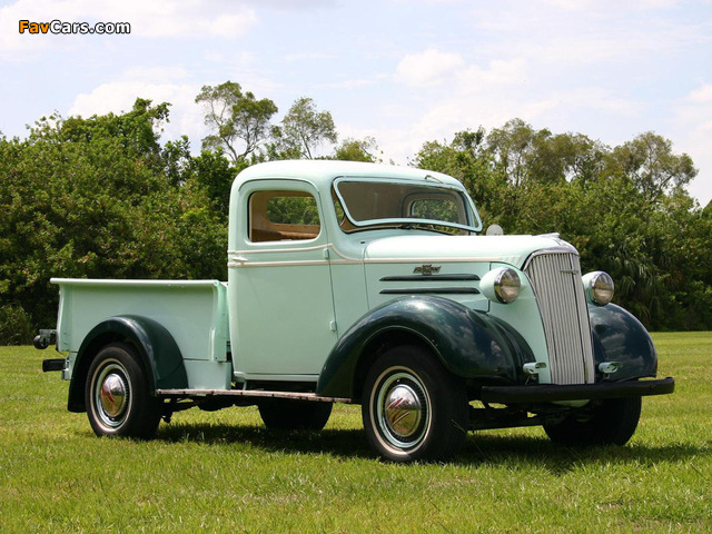 Pictures of Chevrolet Pickup 1937 (640 x 480)