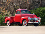 Pictures of Chevrolet 3100 Pickup 1954