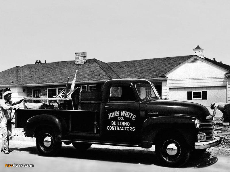 Chevrolet 3800 Pickup Truck (FS-3804) 1948 wallpapers (800 x 600)