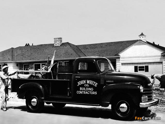 Chevrolet 3800 Pickup Truck (FS-3804) 1948 wallpapers (640 x 480)