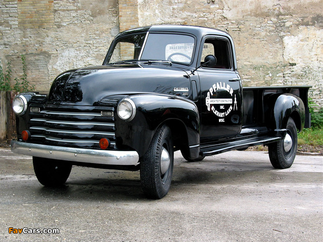 Chevrolet 3800 Pickup (HS-3804) 1950 pictures (640 x 480)