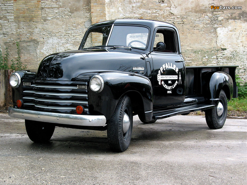 Chevrolet 3800 Pickup (HS-3804) 1950 pictures (800 x 600)