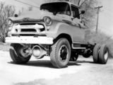 Chevrolet 4100 4x4 Chassis Cab by Coleman 1956 wallpapers