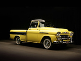Chevrolet Apache 31 Cameo Fleetside (3A-3124) 1958 photos