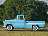 Chevrolet Apache 31 Cameo Fleetside (3A-3124) 1958 wallpapers