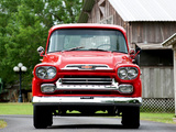 Chevrolet Apache 31 Stepside 1959 wallpapers