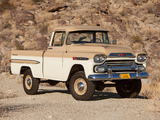 Images of Chevrolet Apache 31 Deluxe Fleetside by NAPCO 1959