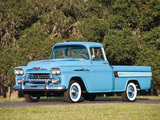 Photos of Chevrolet Apache 31 Cameo Fleetside (3A-3124) 1958