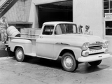 Pictures of Chevrolet Apache 36 Stepside (3E-3604) 1958