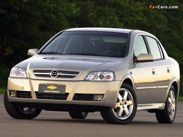 Photos of Chevrolet Astra Sedan 2003–11 (640 x 480)
