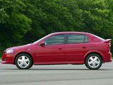 Pictures of Chevrolet Astra GSi 16V 5-door 2003–05