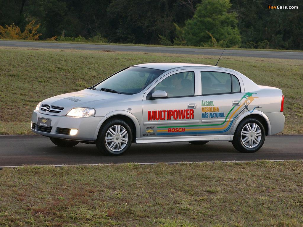 Chevrolet Astra Multipower Sedan 2004–09 wallpapers (1024 x 768)