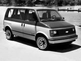 Chevrolet Astro 1985–94 pictures
