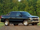 Chevrolet Avalanche Z71 2002–06 photos