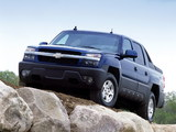 Chevrolet Avalanche Z71 2002–06 pictures